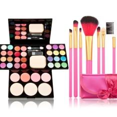 Eye Shadow Makeup Suits 7 Pcs Makeup Brush Intl Di Tiongkok