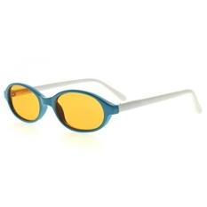 Eyekepper Anti Biru Kacamata Ringan untuk Anak-anak 3 + Anak-anak Kacamata Komputer Deep Sleep Gaming Kacamata, Biru/putih-Intl