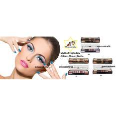 Eyeshadow Mukka Shine 6 Color V Matte 6 Color 03