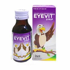 Spesifikasi Eyevit Syrup Vitamin Mata Era Digital Untuk Anak 60Ml Free Packing Bubble Wrap Murah