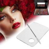 Spesifikasi Hebat 1 1 Stainless Steel Rod Makeup Wajah Palet Spatula Foundation Alat Seni Hias Kuku Internasional Terbaru