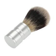 Obral Hebat Profesional Kuas Cukur Murni Aluminium Handle Cleansing Barber Intl Murah
