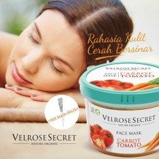 Toko Face Mask Lulur Wajah Velrose Secret Carrot Tomatto Online