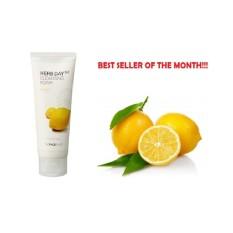 Harga Face Shop Herb Day 365 Cleansing Foam 170Ml Lemon The Klik Shop Original