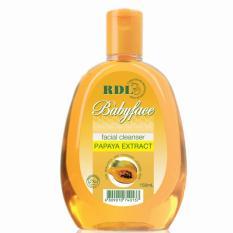 FACIAL CLEANSER RDL BABYFACE PAPAYA EXTRACT 150ML - DISTRIBUTOR AMOSYS (ORIGINAL)