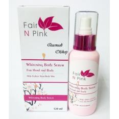 Harga Fair Pink Body Whitening Serum Pemutih Terlaris Original Di North Sumatra