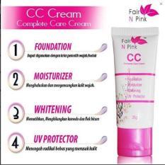 Jual Fair N Pink Cc Cream Original Bpom 25Gr Cc Cream Fair N Pink Original 1 Pcs Original