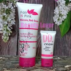 Jual Fair N Pink Paket Serum Dan Dd Cream Fair N Pink Ori