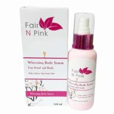 Harga Fair N Pink Whitening Body Serum 120Ml Fair N Pink Original
