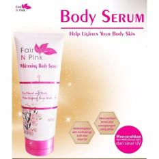 Harga Fair N Pink Whitening Body Serum 160Ml Original 100 Fair N Pink Original