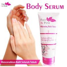 Jual Fair N Pink Fairnpink Whitening Body Serum 160Ml Bpom Original 100 Lazpedia Di Bawah Harga