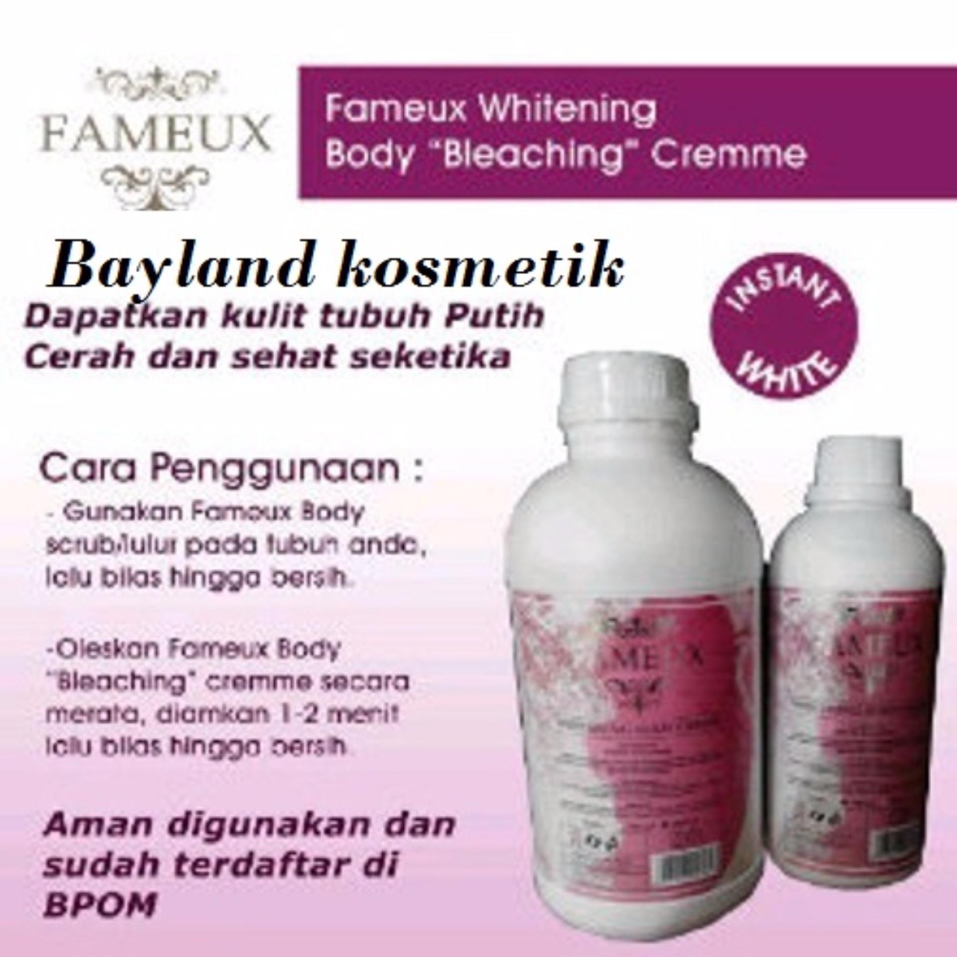 Fameux Bleaching Pemutih Ori BPOM 500ml