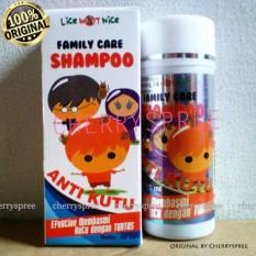 Family Care Shampoo Anti Kutu Lice Sampo Rambut Basmi Kutu Hingga Tuntas Shampo Rambut Keramas - 60ml