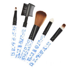 Spesifikasi Fancyqube Kosmetik Makeup Brushes Blue Bar