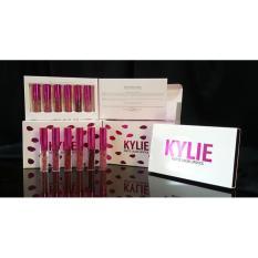FANTA HEXA - Lipgloss 6 In1 Lipcream Kylie Holiday Box PINK ELEKTRIK
