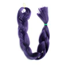 Fashion Sintetis Rambut Ekstensi Ultra Brazili Braid Xpression Blonde African Hair Piece (Warna Seperti Gambar)-Intl