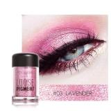 Spesifikasi Modis Glitter Eyeshadow Kecantikan Mata Pigmen Bubuk Bibir Longgar Riasan Alat 3 Intl Terbaik