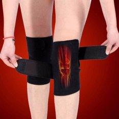 Ulasan Lengkap Tentang Ffy 1 Pair Tourmaline Self Heating Kneepad Terapi Magnetik Lutut Arthritis Brace Support Black