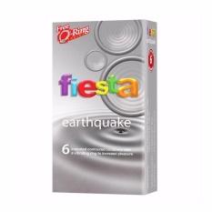Jual Fiesta Kondom Earthquake Gratis Ring Getar Online