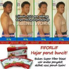 Fiforlif Asli Jakarta Pelangsing Perut Diet Detox Herbal Alami