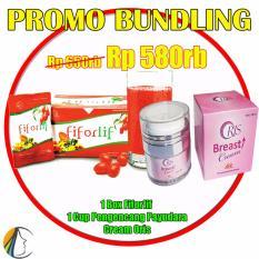Fiforlif Asli Original PT.ABE Pelangsing Perut + Cream Pengencang, Pembesar Payudara Oris
