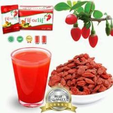 Fiforlif Diet Detox Herbal Alami Pelangsing Perut Original