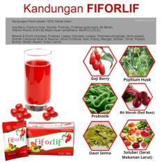 Spesifikasi Fiforlif Original Penurun Berat Badan Alami Mengecilkan Perut Antioksidan Pelangsing Tubuh Paling Bagus