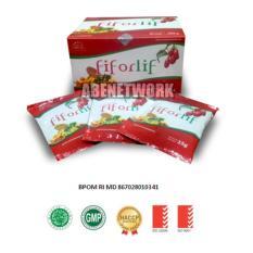 Fiforlif - Super Fiber & Detox Alami Kaya Nutrisi 100% Original -15 Sachet/Box