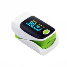 Promo Fingertip Pulse Oximeter Darah Oksigen Saturasi Spo2 Pr Monitor Oxymeter Hijau Intl Oem