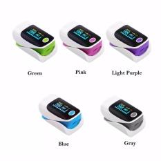 Jual Finger Tip Pulse Oximeter Darah Oksigen Saturasi Spo2 Pr Monitor Oxymeter Ungu Online Di Tiongkok