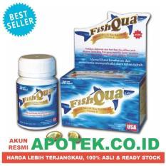 Promo Fish Qua Minyak Hati Ikan Hiu Botol 30 Kapsul Fishqua