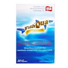 Tips Beli Fishqua 30 S Fish Qua Minyak Ikan Suplemen Kesehatan Jantung Menurunkan Kolesterol Hipertensi
