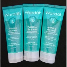 FLASH SALE Wardah Hydrating Aloe Vera Gel 100ML Gel Lidah Buaya Serba Guna Hand Body Lotion Rambut