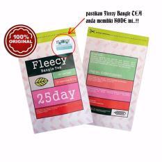Harga Fleecy Bangle Slimming Tea Original With Sticker Anti Fake Teh Pelangsing Isi 25 Sachet Dan Spesifikasinya