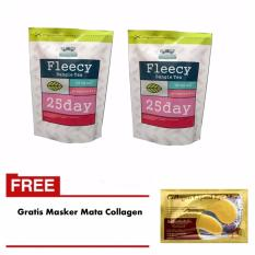 Harga Fleecy Bangle Tea 2 Pcs Gratis 1 Pcs Masker Mata Collagen Branded