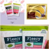 Fleecy Bangle Tea Slimming Tea Teh Pelangsing 1Pcs Gratis Masker Mata Collagen 1 Sachet Fleecy Diskon 40
