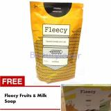 Jual Fleecy Face Body Scrub Coffee Gratis Fleecy Fruits And Milk Soap Ori