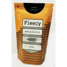 Harga Fleecy Face Body Scrub Original New Pack Coffee 2Pcs Di Jawa Barat