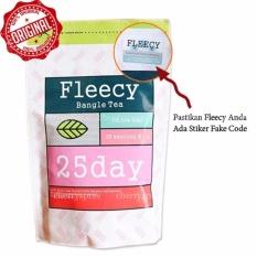 Fleecy Original Bangle Tea Teh Kesehatan Menurunkan Berat Badan Alami Pelangsing Bakar Lemak Kurus dalam 2 Minggu