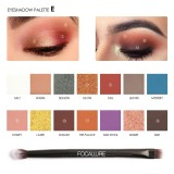 Harga Focallure 14 Warna Pearlized Warna Eyeshadow Powder Eye Shadow Palette Set Intl Di Tiongkok
