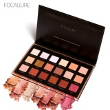 Promo Focallure 18 Colors Palette Shimmer Matte Pigment Eye Shadow Cosmetics Mineral N*d* Glitter Eye N*d* Makeup Beauty Color 02 Intl Di Tiongkok
