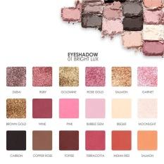 FOCALURRE 18 Warna Bubuk Eyeshadow Palet A
