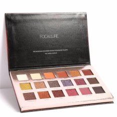 Beli Focallure 18Pcs Highly Pigmented Glitter Eye Shadow Flash Shimmer Eyeshadow With Matte Colors Easy To Wear Eye Daily Makeup Intl Focallure Online