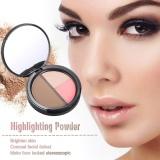 Harga Focallure 1 Pc Makeup Kontur Wanita Concealer Powder Professional Menyoroti Palet Bedak Kosmetik Tool Dengan Cermin 1 Intl Branded