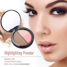 Ulasan Focallure 1 Pc Makeup Kontur Wanita Concealer Powder Professional Menyoroti Palet Bedak Kosmetik Tool Dengan Cermin 1 Intl
