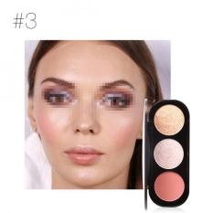 Berapa Harga Focallure 3 Color Blush Highlighter Bronzer Palette Contour Shadow Powder Face Makeup Powder 3 Intl Oem Di Tiongkok