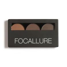 Toko Focallure 3 Color Eye Shadow Eyebrow Powder Make Up Palette Women Beauty Intl Oem Di Tiongkok