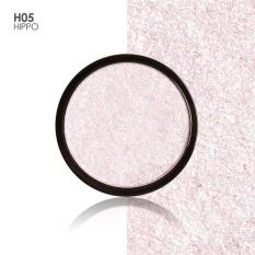 FOCALLURE 5 Colors Illuminator Brightening Face Pressed Highlighter Powder Easy to Wear for Face Shimmer H05 - intl