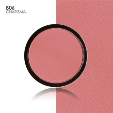 FOCALLURE 6 Colors Blush Makeup Cosmetic Natural Pressed Blusher Powder Palette Charming Cheek Color Make Up Face Blush B06 Color