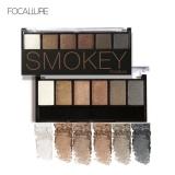 Ulasan Lengkap Focallure 6 Warna Kosmetik Shimmer Matte Eyeshadow Palet Tahan Lama Smokey Eye Makeup 1 Intl